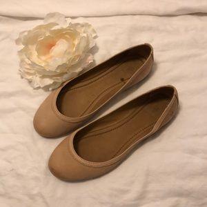 Frye Carrie Ballet Flat in Blush